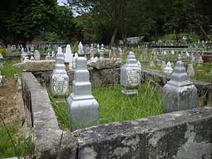 English: Melaka's Muslim Cemetry.