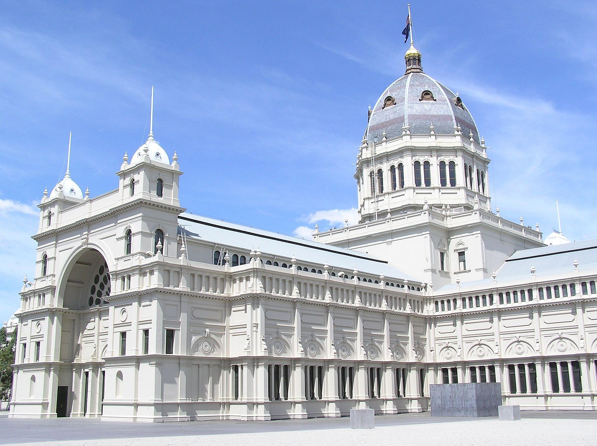 D Exhibition Melbourne : Palais royal des expositions — wikipédia