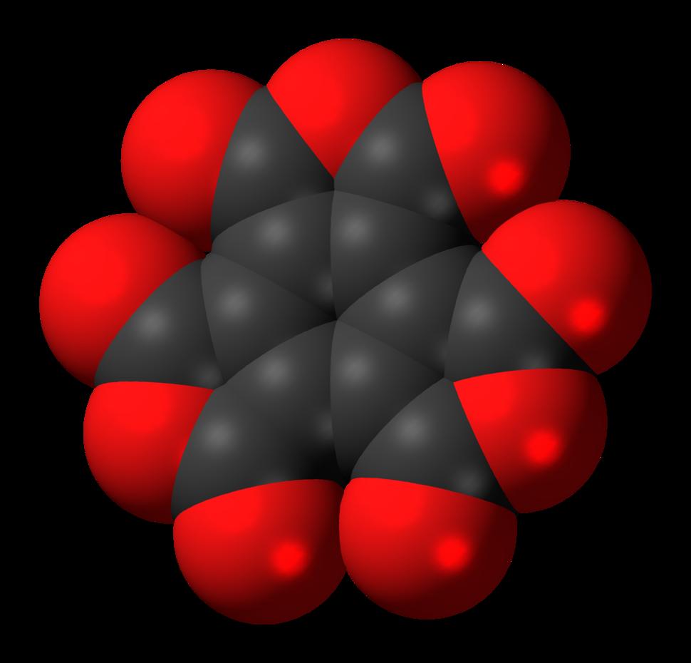 Mellitic anhydride molecule