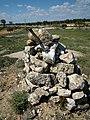 Memorial cairn on the Jarama Battlefield 17 April 2014.JPG