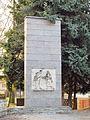 Memorial of soviet army in Okříšky, Třebíč District.JPG