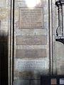 Memorials to Herbert Newell-Bate, Walter John Tapper, Robert Charles Green, and Arthur Geoffrey Widdess in York Minster.jpg