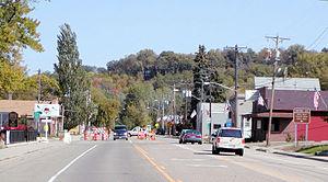 Minnesota State Highway 13 - MN 13 in Mendota
