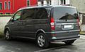 Mercedes-Benz Viano Kompakt CDI 3.0 V6 BlueEFFICIENCY Ambiente Edition (W 639, Facelift) – Heckansicht, 13. Februar 2011, Mettmann.jpg