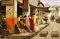 Merchant in Pompeii by Eduardo Ettore Forti before 1897.jpg
