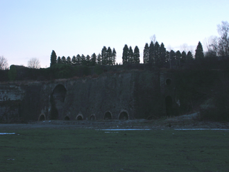 Cyfarthfa Ironworks - The abandoned Cyfarthfa Ironworks.