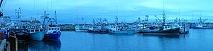 Meteghan - Meteghan fishing fleet