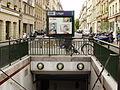 Metro de Paris - Ligne 13 - station Liege A.jpg
