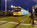 Metrolink Tram at Deansgate-Castlefield.jpg