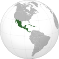 Mexico Central America Caribe(orthographic projection).png