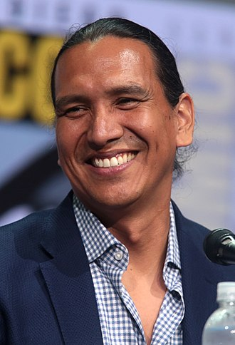 Michael Greyeyes - Greyeyes at the 2017 San Diego Comic-Con International