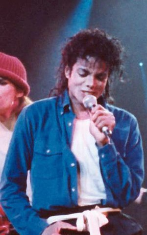 "Bad (album) - Jackson performing ""The Way You Make Me Feel"" during the Bad world tour"