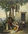 Michael Neher - Szene aus dem italienischen Volksleben (1828).jpg
