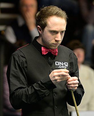 Michael Wasley - Michael Wasley at the 2015 German Masters