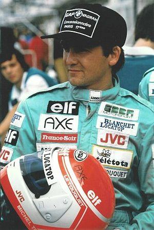 Michel Trollé - Trollé when he drove in International Formula 3000