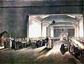 Microcosm of London Plate 005 - Dining Hall, Asylum (colour).jpg