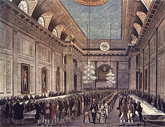 Freemasons' Hall, London - Freemasons' Hall, London, c. 1809