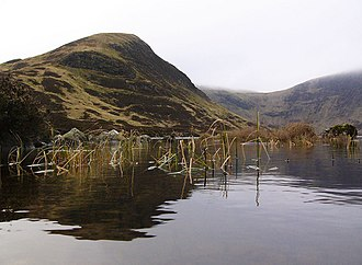 White Coomb - Mid Craig from Loch Skeen
