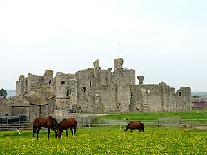 Anne Neville - Middleham Castle came into the possession of the Neville family in 1270.