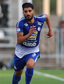 Milad Zakipour, Machine Sazi vs Esteghlal, 23 August 2019 (cropped).jpg