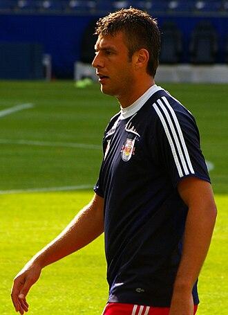 FK Čukarički - Ex-national player Milan Dudić started his professional career at Čukarički Belgrade and played from 1999 to 2002 for the club.
