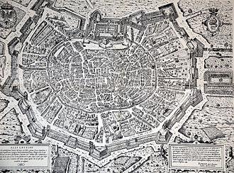 Walls of Milan - Milan in 1573