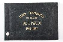 Militão A. de Azevedo - Álbum Comparativo, capa - Acervo do Museu Paulista da USP.jpg