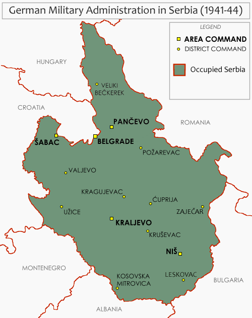 Military Administration in Serbia 1941-44