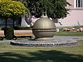Millecentenary memorial (1996), Szent Imre Square, 2016 Csepel.jpg