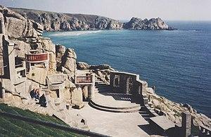 Minack Theatre near Porthcurno, Cornwall, England