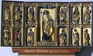 St. Matthiasaltar in Minden Cathedral