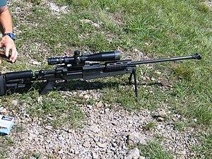 PGM 338 - PGM 338 rifle.