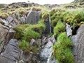 Miniature waterfall - geograph.org.uk - 962078.jpg