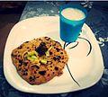 Missi Roti With Achar And Lassi....!.jpg