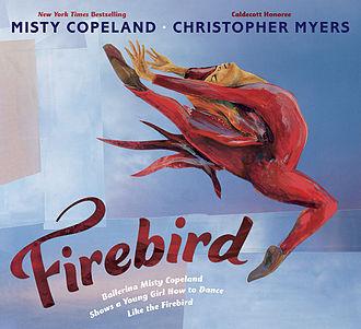 Misty Copeland - Cover of Firebird, Copeland's 2014 children's book