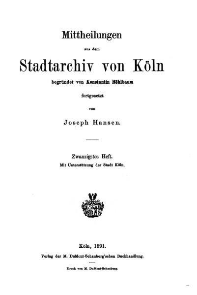 File:Mitteilungen aus dem Stadtarchiv von Köln 1891-20.djvu