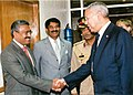 Mohammad Mosaddak Ali met with Colin Powell, United States Secretary of State, at Prime Minister's Office in Dhaka.jpg