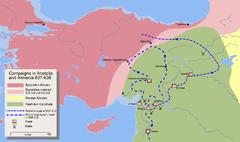 Mohammad adil rais-Invasion of Anatolia and Armenia