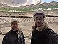 Moi et mon père au Stade de Tizi Ouzou.jpg