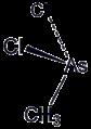 Molecular structure of methyldichloroarsine.png