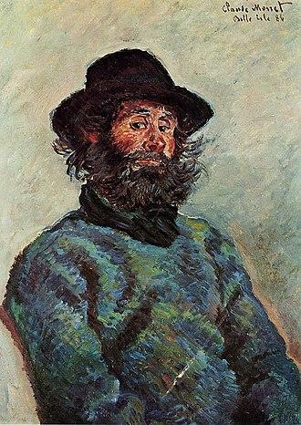 Portrait of Père Paul - Image: Monet Poly Marmottan