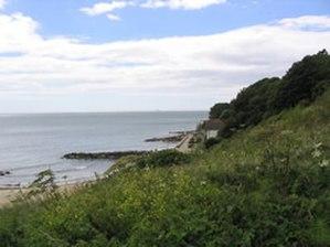 Battle of Bonchurch - Image: Monks Bay Battle of Bonchurch