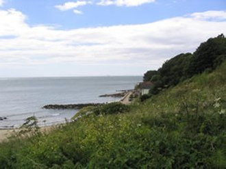 Battle of Bonchurch - Image: Monks Bay Battle of Bonchurch
