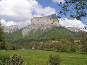 Mont Aiguille - Image: Mont Aiguille