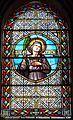 Montagnac-sur-Auvignon église vitrail nef.JPG
