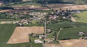 Montcabrier (Tarn) Aerial view - the village.jpg