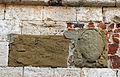 Montevettolini, ex-palazzo comunale, stemma e iscrizione.JPG