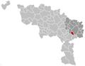 Montigny-le-Tilleul Hainaut Belgium Map.png