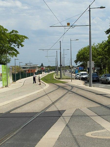 Montpellier - Tramway - Ligne 2 - Centre-Ville - Saint Jean de Védas