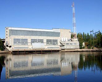 Aarne Ervi - Image: Montta Power Plant Muhos 2006 08 26